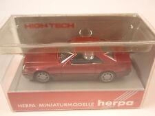 Herpa 025409 MB 500 sl burdeos-metalizado High Tech 1:87 nuevo embalaje original U.