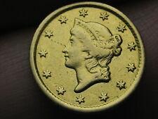 1853 O $1 Gold Liberty Head One Dollar Coin