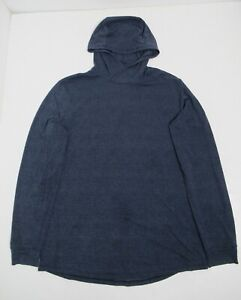 Lululemon Men's Repetition Hoodie Heathered Nautical Navy Size XL Stretch