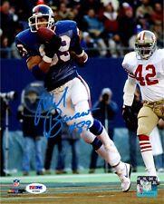 Mark Bavaro autographed signed 8x10 photo NFL New York Giants PSA COA