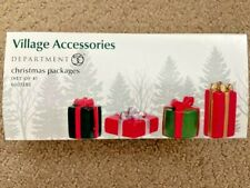 Department 56 - Christmas Packages #6003182 Set of 4