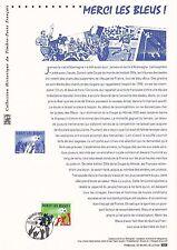 Document Philatélique Timbre 1er Jour : 05/07/ 2006 - Merci les Bleus !