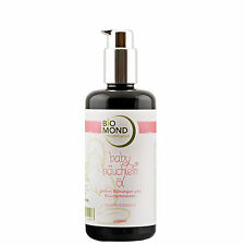 BIO Baby Bäuchlein Öl im Spender BIOMOND 200 ml gegen Blähungen Massage NATUR