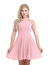 Women Formal Short Mini Dress Prom Evening Party Bridesmaid Ball Gown Cocktail