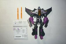 TRANSFORMERS ANIMATED SKYWARP 100% COMPLETE LOOSE 2008