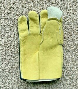 Nash Horsehide Leather Goalie Blocker Palm! Hockey Goal Glove Replacement JR