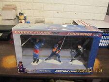 SLU Wayne Gretzky Vintage 1998 Rangers Oilers & Kings Uniforms Freeze Frame