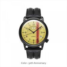 Honda Mechanical Watch 50th Anniversary black yellow NEW from JAPAN