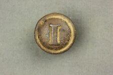 Civil War Confederate Block Infantry Button E.M. Lewis Richmond Bkmk