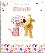 Boofle Special Nannie Mother's Day Card Cute Range Greeting Cards