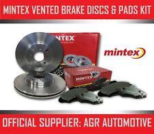 Mintex Delantero Discos Almohadillas 283mm para Peugeot 406 Coupe 3.0 V6 24V 190 BHP 1997-04