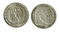 pcc1840_63) GERMANY THIRD REICH 5 Reichsmark 1936  SILVER