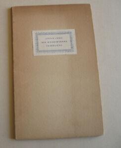Stefan Zweig: Die unsichtbare Sammlung - Edition limitée à 300 ex. - 1951