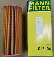 Mann Luftfilter C12104 für Fiat Punto, Idea, Musa