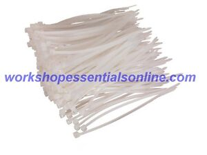 Cable Ties White/Natural Strong Tie Wraps-Zip Ties Nylon Small-Large Sizes