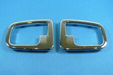 Pannelli ciechi quadro MANIGLIE INTERNO BMW e36 z3 CROMO maniglia porta quadro Merce Nuova