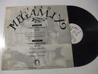 "Italo Megamix - Disco Maxi 12"" Vinile Stampa ITALIA 1988"