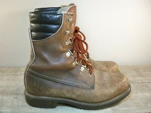 Vintage Red Wing Irish Setter 859 Men's Work Hunting Insulated Boots Size 10 D