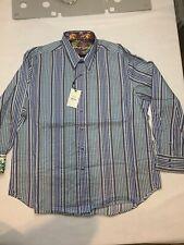 """Robert Graham """"Gossan"""" NWT $198 Shirt 3XL"""