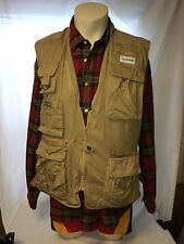 Fuji Film Digital Vest photographer Vintage safari travel outdoors jungle size L