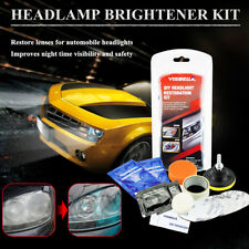 PROTEC Nano Politur Scheinwerfer Reparatur PROFI SET Headlight Restoration Kit