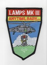 Lamps Mk 111 Anytime, Baby - TomcatxBC Patch Cat No M5564