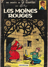 Gil Jourdan 7. Les Moines Rouges. TILLIEUX 1964.