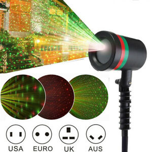 LED Moving Laser Projector Light Christmas Party Outdoor Landscape Lamp Lights