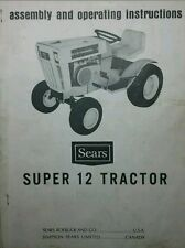 Sears Suburban SS/12 Tractor & Engine Owners,Parts,Service (4 Manuals) 917.25510