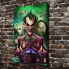 Batman: Arkham Asylum Joker Paintings HD Print on Canvas Home Decor Wall Picture
