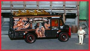 Matchbox: HO Scale _ 2013 / 2019 _ Food Truck / Chow Mobile _ The Lobster Cage