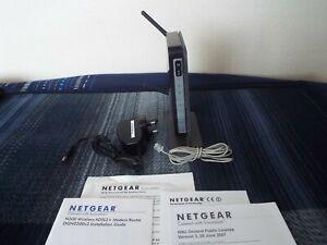 Netgear DGN2200 300 Mbps 4 Port 10/100 ADSL 2+ Wireless N Broadband Modem Router