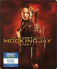 The Hunger Games: Mockingjay, Part 1 (Blu-ray+DVD+Digital Copy) Steelbook