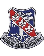 """N-DUI-0327 327 Infantry """"Honor And Country"""" Patch with Heat Seal 3 1/2"""""""