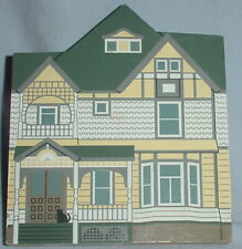 Cats Meow Daughters of Painted Lady Series Wooden 'Fan House' Building 1997/5""