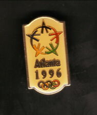 Atlanta Summer Olympics--1996 Logo Pin--1990 Atlanta Olympic Committee