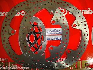 COPPIA 2 DISCHI FRENO ANTERIORI BREMBO 68B407D7 BMW R 1200 RT 2005 2006 2007