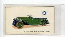 (Jd6877) GALLAHER,MOTOR CARS,A.C.ACE,1934,#22