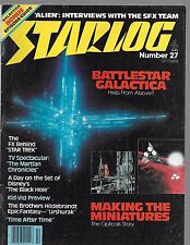 STARLOG MAGAZINE NUMBER 27 OCTOBER 1979 VF CONDITION-BATTLE STAR GALACTICA!