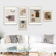 Abstract Canvas Poster Geometric Nordic Wall Art Print Minimalist Home Decor