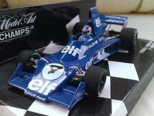 Voitures Formule 1 miniatures bleus pour Tyrrell 1:43