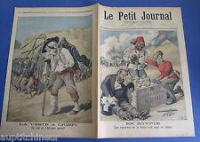 Le petit journal 1896 291 Egypte caricature dette angleterre italie crispi