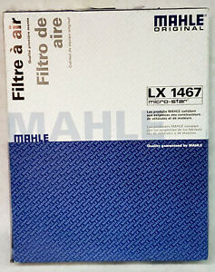 New MAHLE Original Air Filter LX-1467, 2003-2011 Saab 9-3, 2010-2011 9-3X Turbo