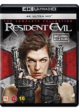 Resident Evil 1-6 Complete 4k UHD EU IMPORT Blu-ray