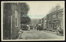 1927 The Dog Inn Market Street Chapel-en-le-Frith Derbyshire Postcard C143