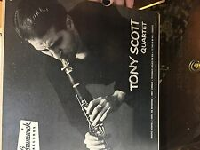 "10"" JAZZ 33 RPM LP RECORD - TONY SCOTT QUARTET - BRUNSWICK 58056"