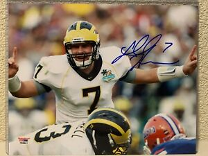 Chad Henne Signed Michigan Wolverines 8x10 Photo PSA/DNA