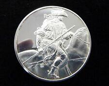 (G5521) Leonardo da Vinci Medaille,' Junger Reiter ', 2 Unzen 925 Silber