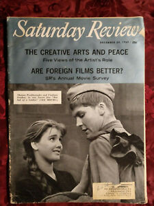 Saturday Review December 24 1960 GEORGE FERSH JANE ADDAMS HENRY STEELE COMMAGER