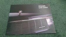 BUICK 1987 AUTOMATIQUE contrôle du niveau USA brochure RIVIERA REGAL le sabre Electra